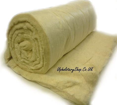 cotton wadding for upholstery white fr cotton wool mix felt upholsteryshop co uk