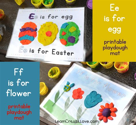 playdough mats booklet entire booklet printable printable playdough mats e f