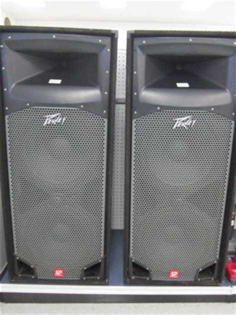 Power Lifier Built Up Peavey peavey sp4 speakers price for sale