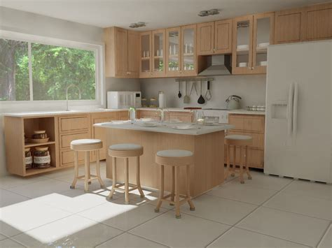 Simple Design For Small Kitchen - designing small kitchens with breakfast bars