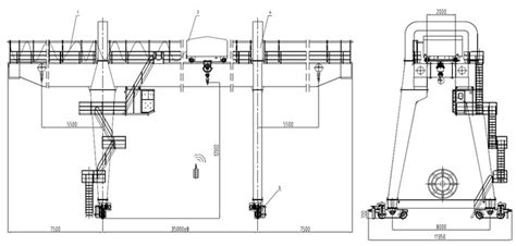 container gantry cranes drawings wiring diagrams wiring