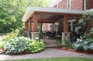 Rustic Covered Patio by Beautiful Covered Patio Cleveland Rustic Patio
