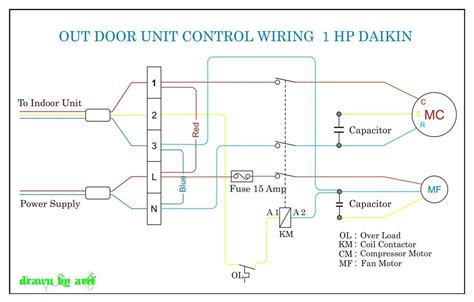 ductless mini split air conditioner wiring diagrams