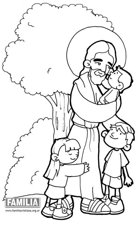 imagenes para colorear jesus y los niños dibujos de im 225 genes religiosas para pintar colorear im 225 genes
