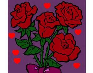 imgenes de con rosas y corazones imgenes de imagenes de dibujos de rosas con corazones imagui
