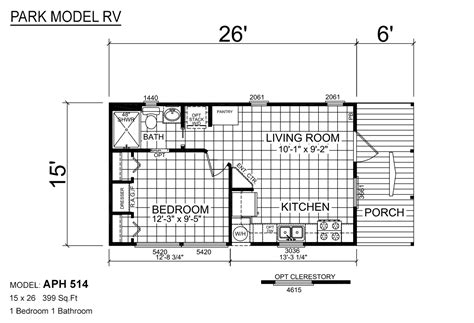 park model rv floor plans 100 rv park model floor plans park model rv aps 601 by