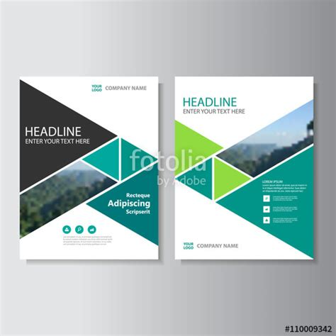 design cover proposal vector quot green business proposal vector leaflet brochure flyer