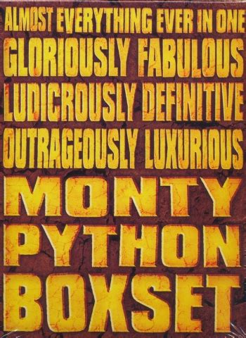 se filmer everything everything monty python almost everything ever boxset 15 disc