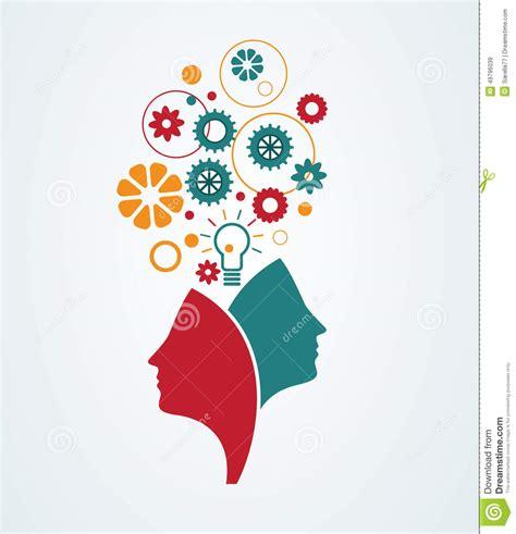 imagenes creativas web creative minds stock vector illustration of person