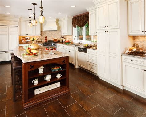 Traditional Kitchen Floor Tiles by Kitchen Floor Tiles Dining Room Eclectic With Bench Black