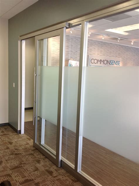 Glass Office Walls With Sliding Door By Nello Nello Wall Glass Door Office