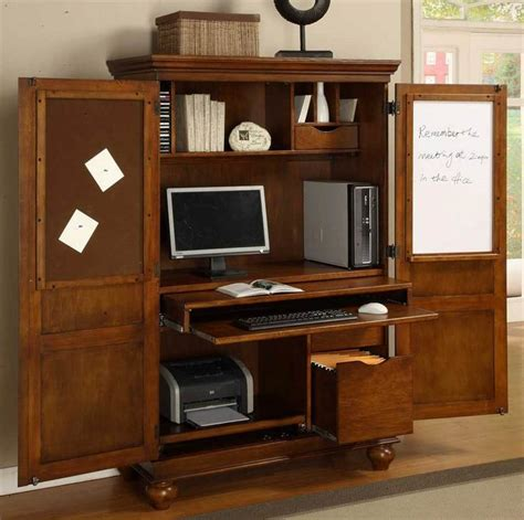 25 best ideas about computer armoire on craft