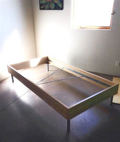 ikea hack bed frame boring lillehammer bedframe goes mid century modern daybed