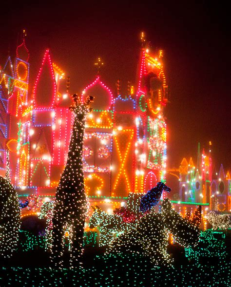 disney parks after dark its a small world holiday wdw
