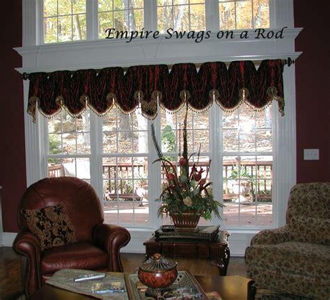 Traditional Living Room Valances Valances On Rods Traditional Living Room Other By