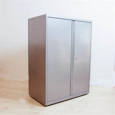 Silver Cabinet by Silver Door Storage Cabinet Metal Storage