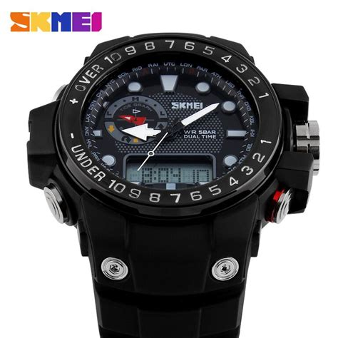 Promo Skmei Casio Sport Led Water Resistant 50m Ad1117 skmei casio sport led water resistant 50m ad1063 black jakartanotebook