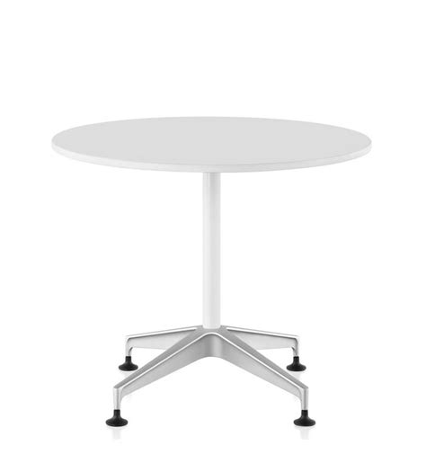 Herman Miller Meeting Table Herman Miller Setu Chalk White Meeting Height Table Office Chairs Uk