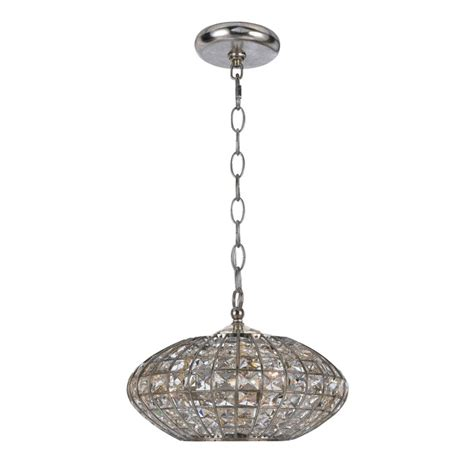 Overstock Lighting Fixtures Transitional Antique Silver 3 Light Pendant Light Fixture