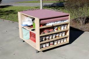 bench portable workbench diy portable workbench with storage free plans