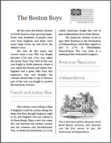 the boston boys workbook