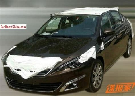 new peugeot sedan 2014 new peugeot 408 sedan first viewed autos world blog
