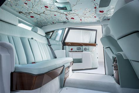 Rolls Royce Interior Pics by Rolls Royce Phantom Serenity Unveiled