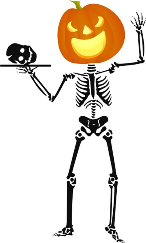 skeleton clipart skeleton clip at clker vector clip