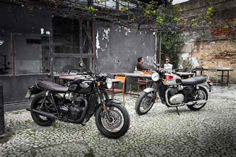 Motorrad Tank Zweifarbig Lackieren by Die Neue Triumph Bonneville T 120 Motorrad Bayer Gmbh