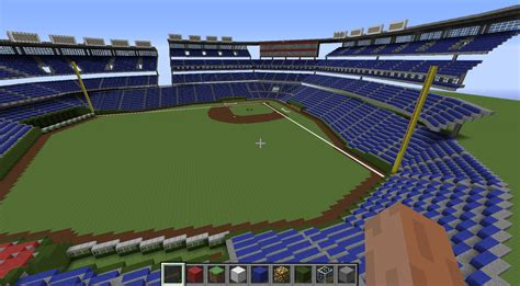 minecraft sports stadium image gallery minecraft baseball