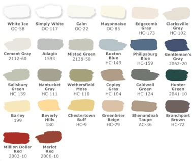 pottery barn paint colors for the quot weathersfield moss quot for the home
