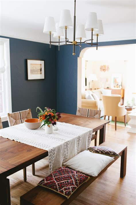 Dining Room Color Options Project East Side Benjamin Blue Paint Color