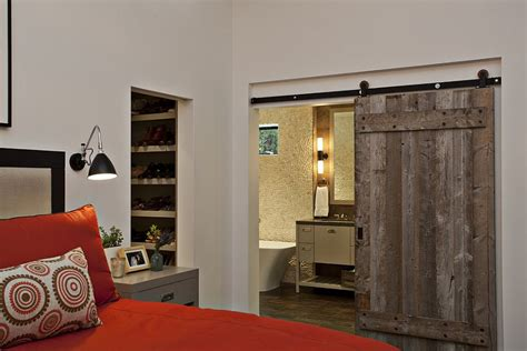 sliding barn door bedroom 25 bedrooms that showcase the beauty of sliding barn doors