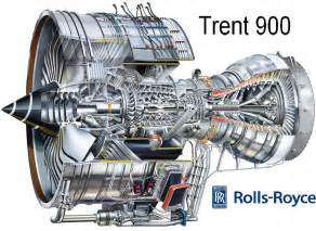 Rolls Royce Trent Rolls Royce Trent 900 Turbo Jet Fan Shaft Prop