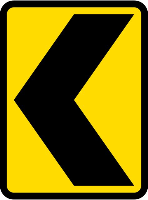 st on right or left file singapore road signs warning sign sharp deviation