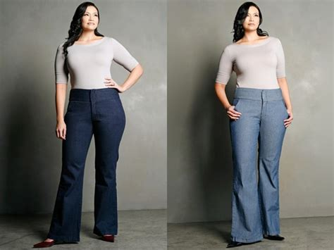 Hq 12041 Slim Denim Trousers plus size 50 ideas hq