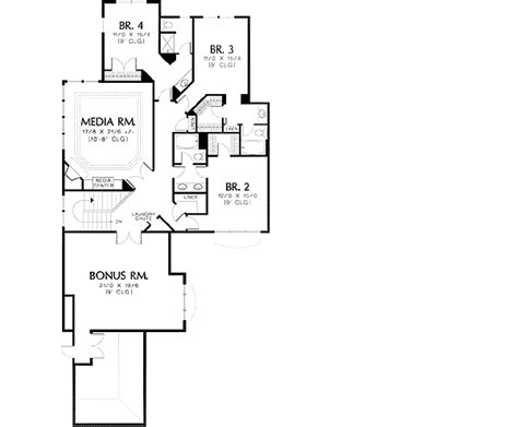 l shaped master bedroom floor plan l shaped 2 story with master on main 69365am 1st floor