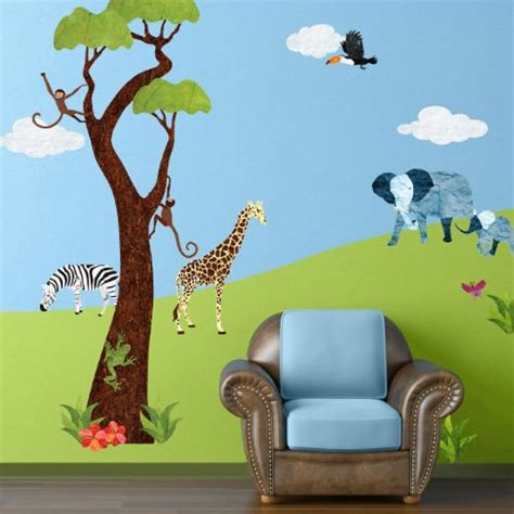 safari wall decals tktb