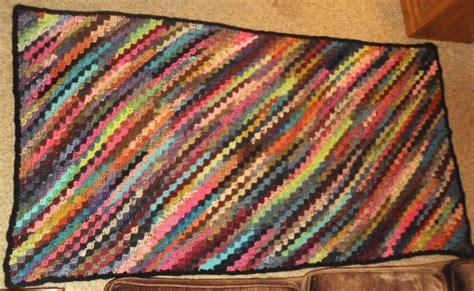 pattern for scrap yarn afghan 17 best images about scrap yarn crochet afghans on