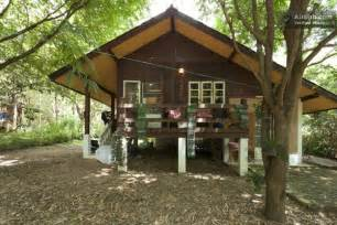 Cabin Floor Plans Small peaceful little wooden cottage in thailand tiny house pins