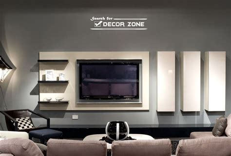 Tv Wand Modern by Modern Tv Wall Units With Vertical And Horizontal Shelves