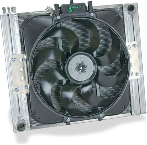 aluminum radiator with electric fan flex a lite 60187 aluminum radiator with electric fan for