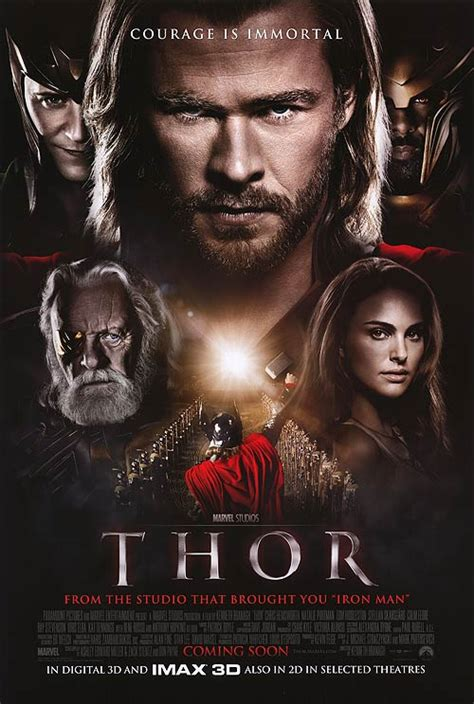 thor film poster thor movie posters at movie poster warehouse movieposter com