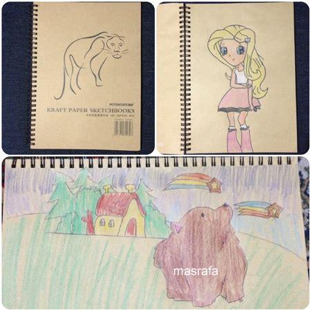 sketchbook di gramedia gambar fayra 3 masrafa