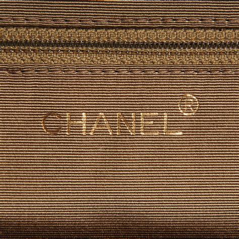 Sui Linen Frame Bag by Chanel Vintage Linen Frame Shoulder Bag Beige 74783