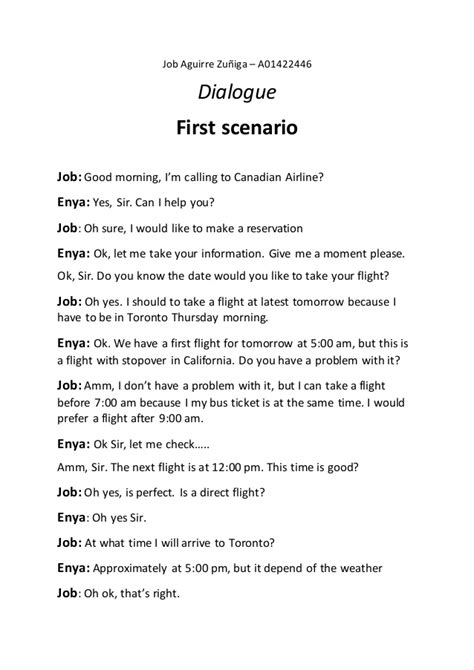 Ingles dialogos