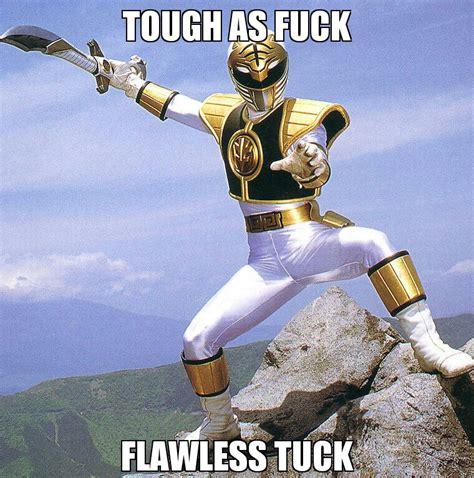White Power Ranger Meme - white ranger tuck know your meme