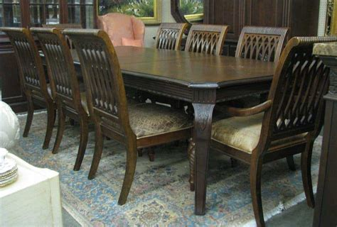 bernhardt dining rm embassy row table  chairs