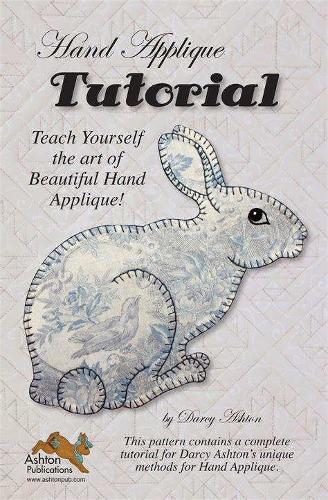 Embroidery Applique Tutorial by Applique Tutorial By Ashton Darcy Applique