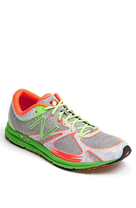 new balance shoes for flat new balance racing flat in multicolor for grey green